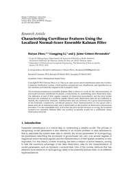 Characterizing Curvilinear Features Using The Localized Normal-Score